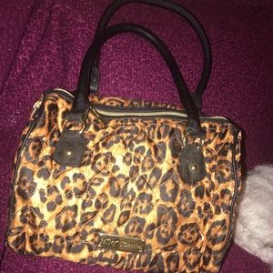 Betsey Johnson cheetah purse